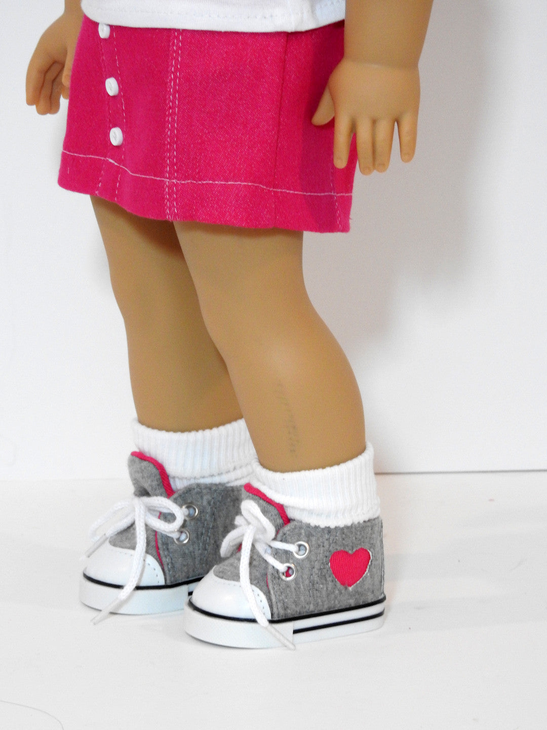 18 Inch Doll High Top Sneakers
