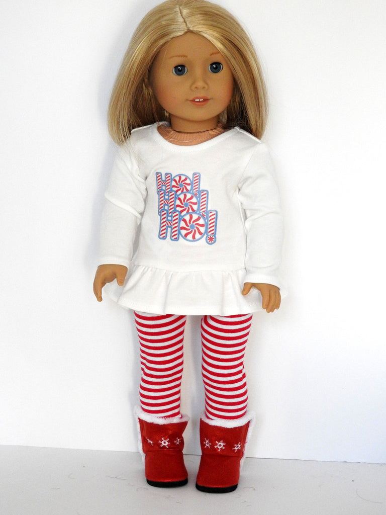 Christmas Outfit.18 Inch Doll Christmas Outfit
