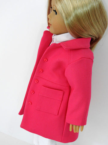18 Inch Doll Clothes Handmade Wind Chill Coat for American Girl Doll
