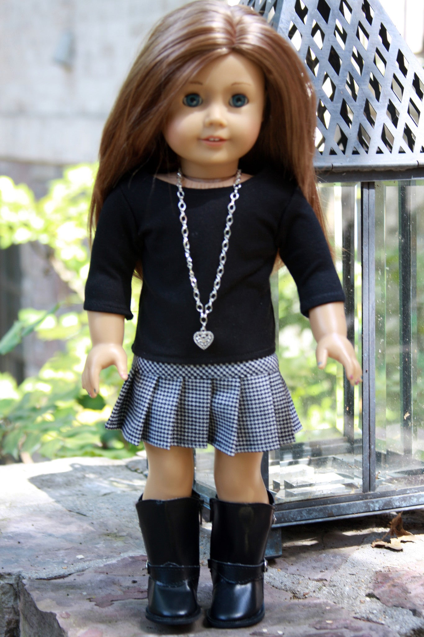 American Girl Doll Back to School Outfit