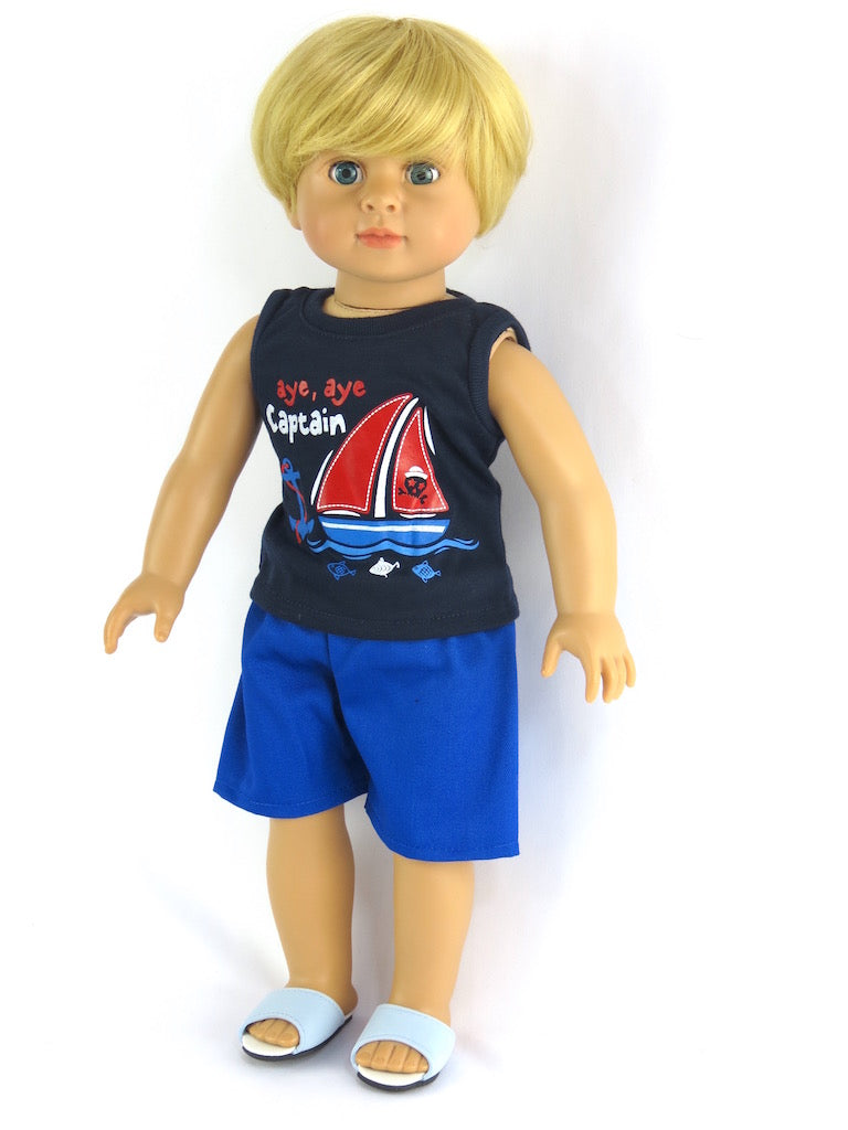 18 Inch Boy Dressed Doll