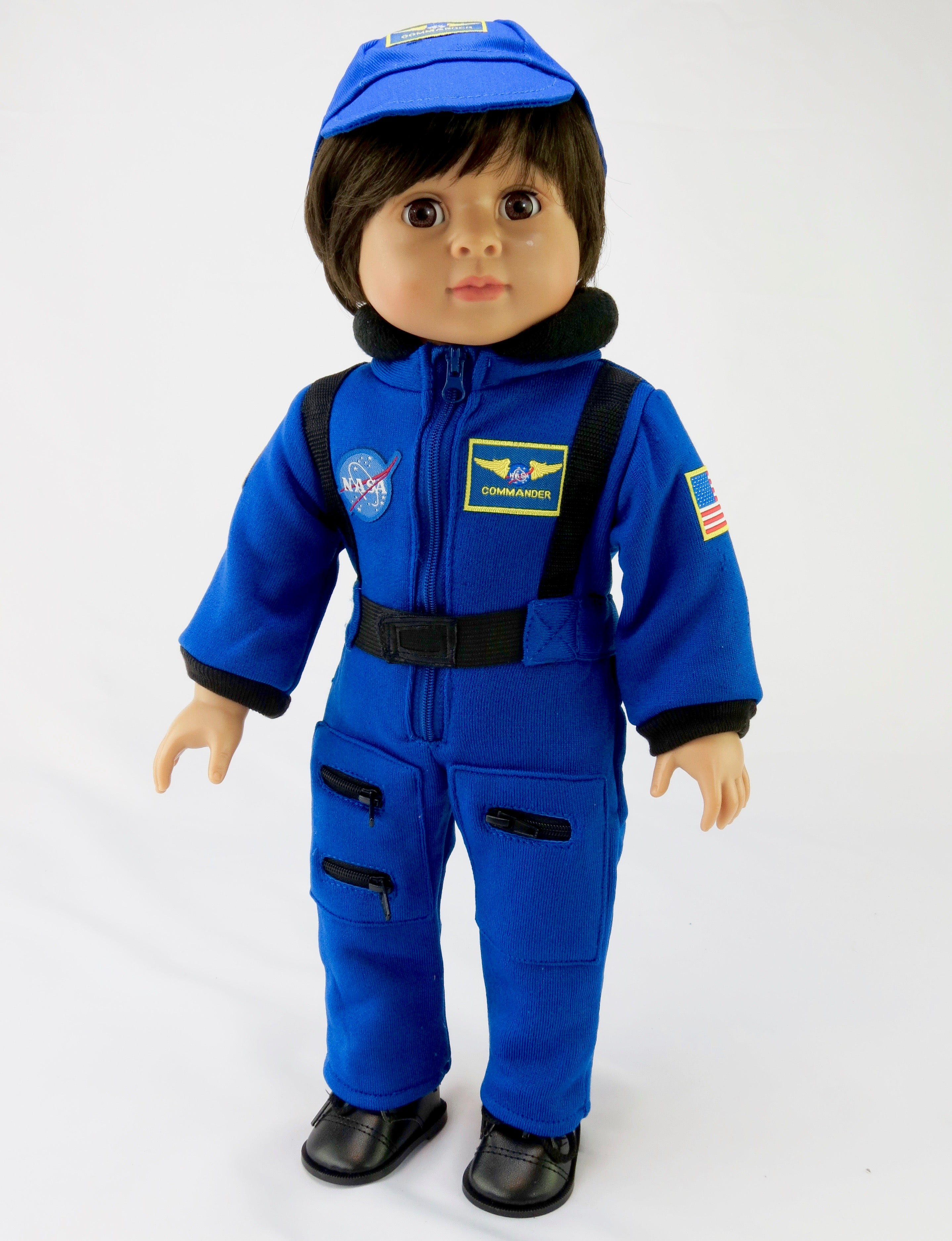 Inch Doll Blue NASA Astronaut Outfit