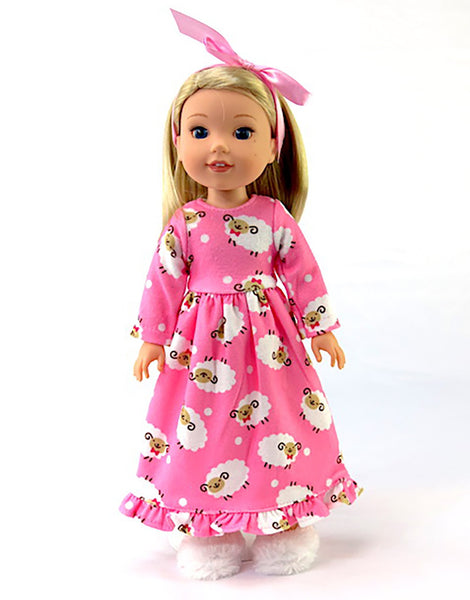 Wellie Wishers doll Nightgown