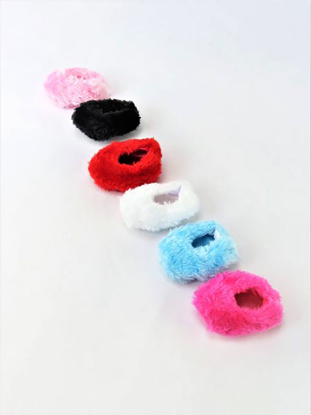14.5 INCH DOLL Fuzzy Slippers fits Wellie Wishers Doll
