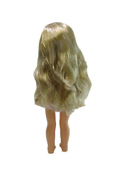 14 Inch Girl Doll, Blonde ~ Undressed