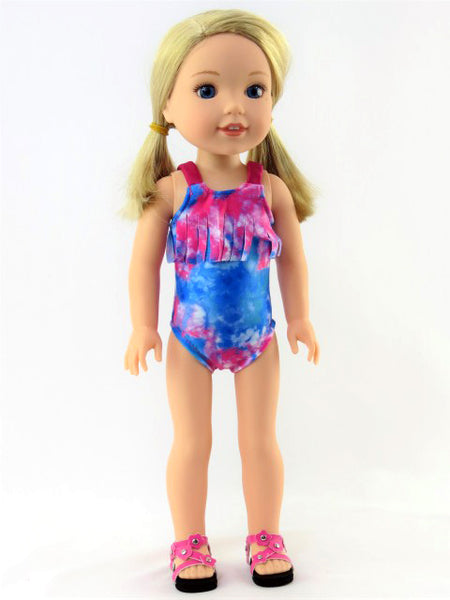 Wellie Wishers Doll Swimsuit