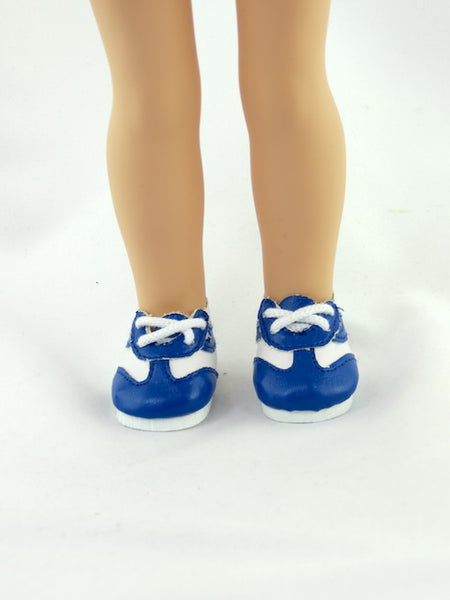 14.5 INCH DOLL 2 Toned No Tie Sneakers