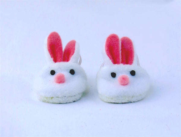 Wellie Wishers Doll Bunny Slippers