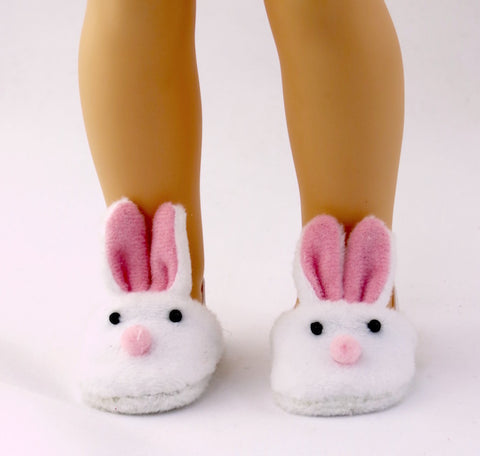 14.5 INCH DOLL Bunny House Slippers