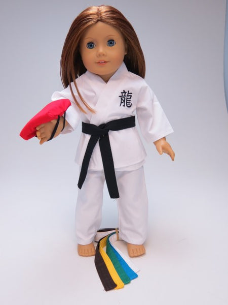 Karate Outfit for American Girl Doll