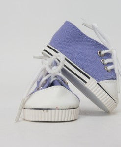 18 Inch Doll Lavender Sneakers