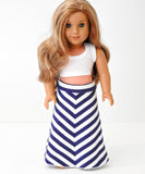 AG Doll Maxi Skirt
