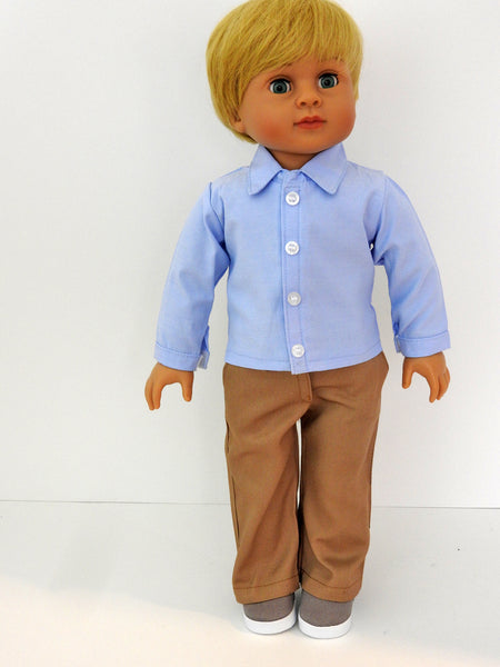 18 Inch Dressed Boy Doll and Outfit