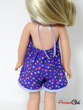 Handmade Romper for Wellie Wishers Doll