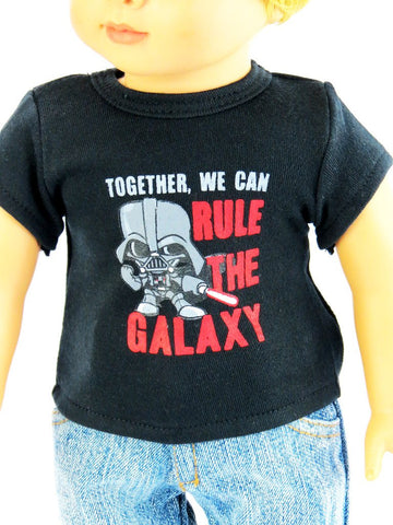 18 Inch BOY Doll Graphic T-Shirt