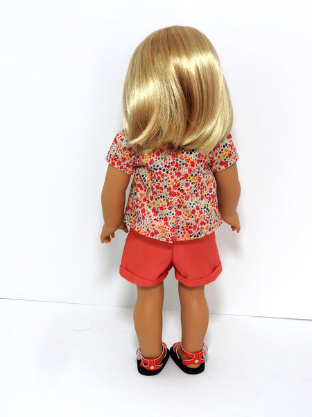American Girl Doll Handmade Shorts Outfit