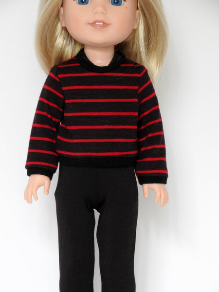 14.5 INCH DOLL Pant Set