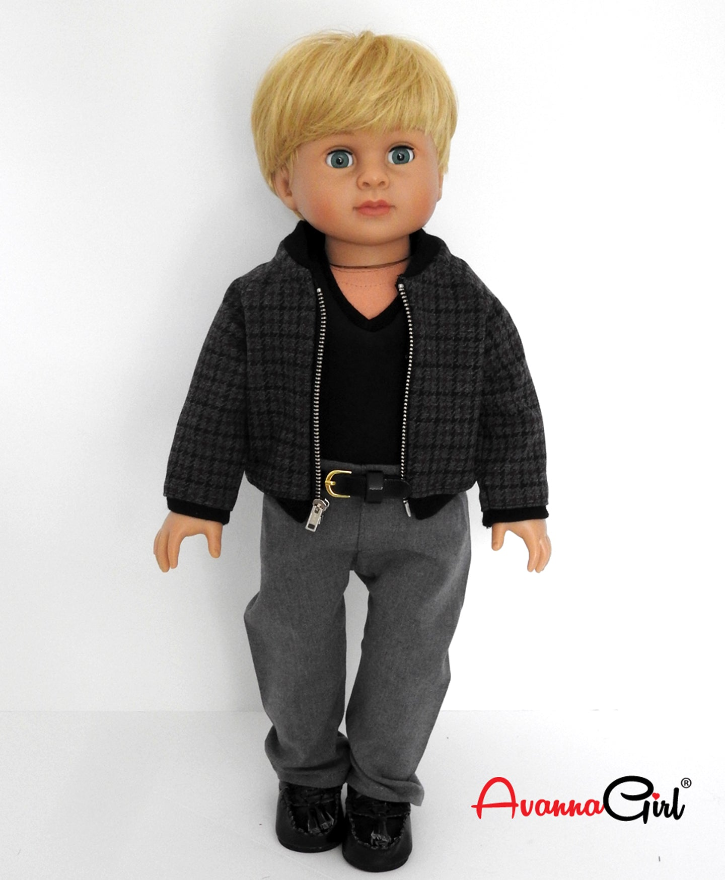18 Inch Boy Doll Bomber Jacket and Outfit