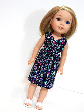 Wellie Wisher Doll Handmade Dress