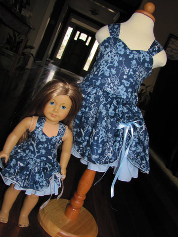 Doll and Me: Flirty Peek-a-boo Dress