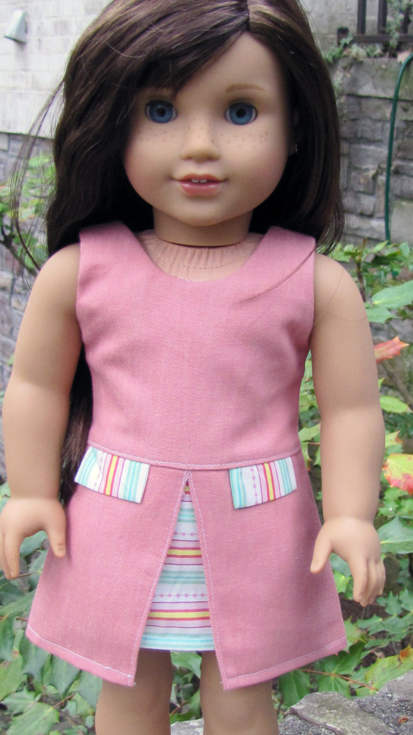 Inspired by Zooey Dress for 18 Inch Dolls
