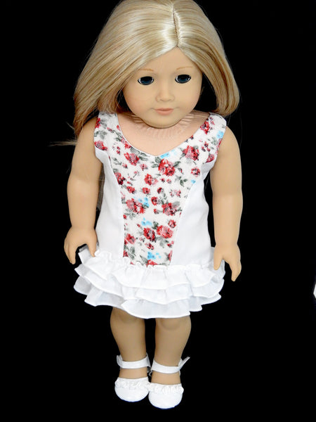 AG Doll Clothes Trendy Handmade Outback Libby Kimberly Tank Dress for 18 Inch Dolls