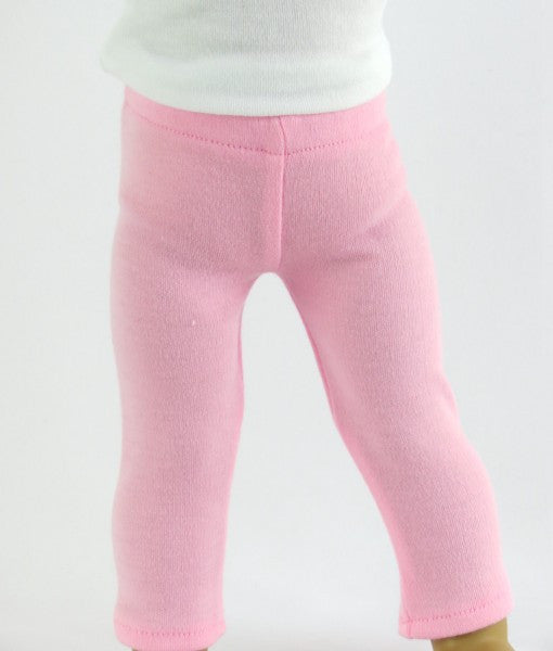 18 Inch Doll Pink Leggings