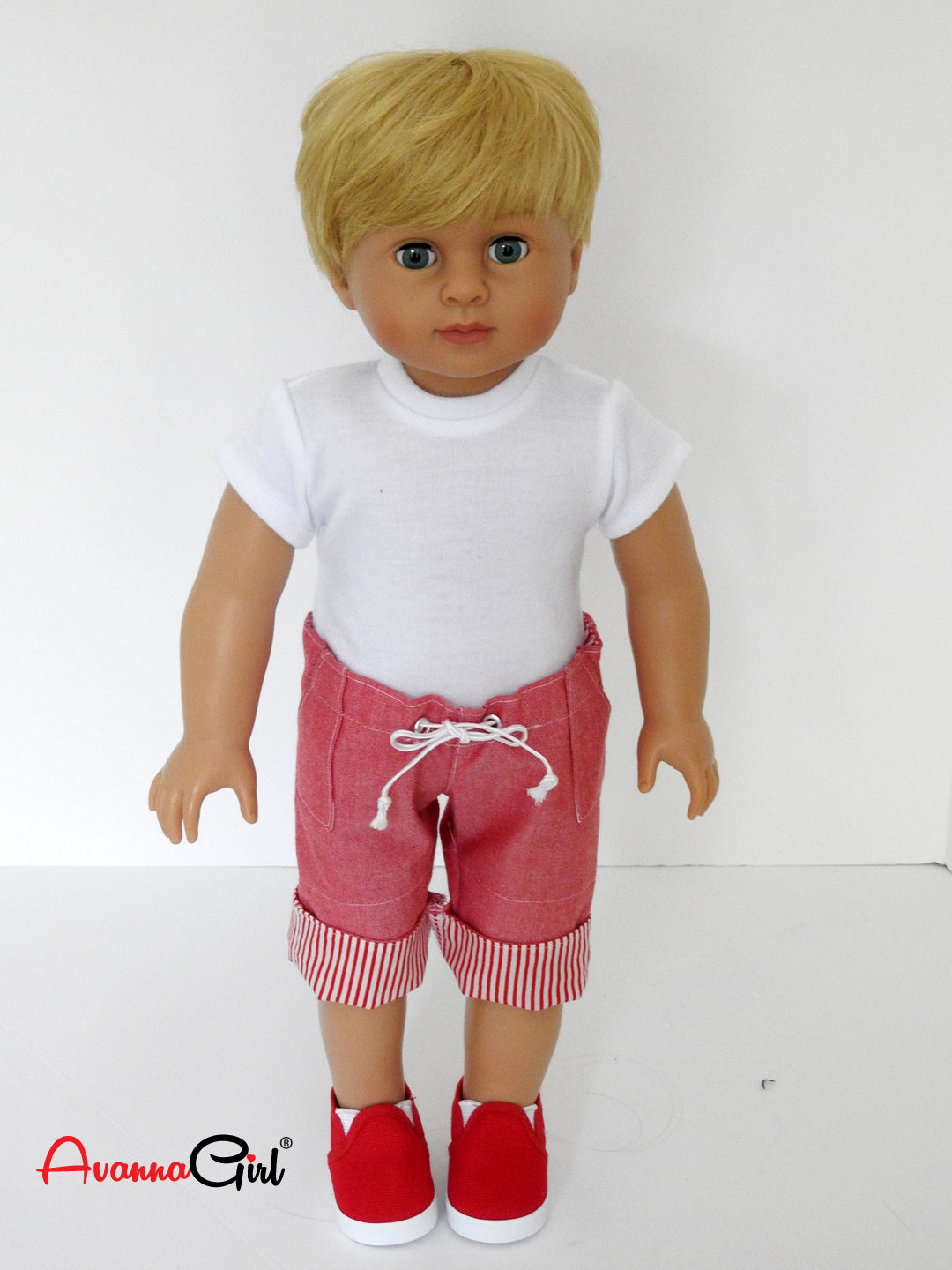 Doll Clothes T Shirt fits 18 Inch American Girl or Boy