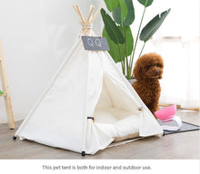 Load image into Gallery viewer, Teepee Dog Bed