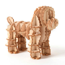 Load image into Gallery viewer, 3D Miniature Wooden Dog