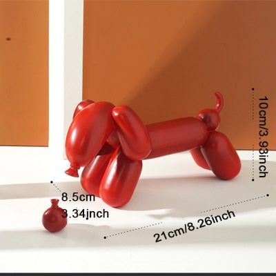 Matte Balloon Dog