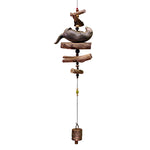 Carved Sea Otter Windchime
