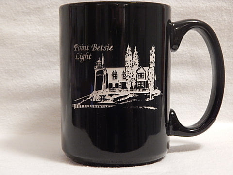 Point Betsie, MI Lighthouse Coffee Mug