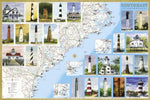 Southeast Lighthouses Map open