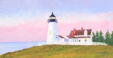 """Early Evening, Pemaquid"" by C Barry Hills"