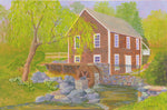 """Spring at the Mill"" by C Barry Hills"