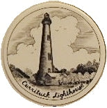 Scrimshaw Currituck Lighthouse Magnet