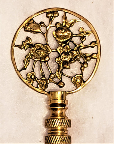 Flower Garden Lamp Finial