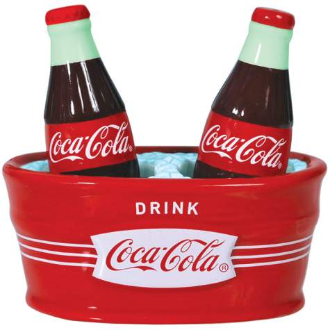 Ice Cold Coke Magnetic Salt & Pepper Shakers