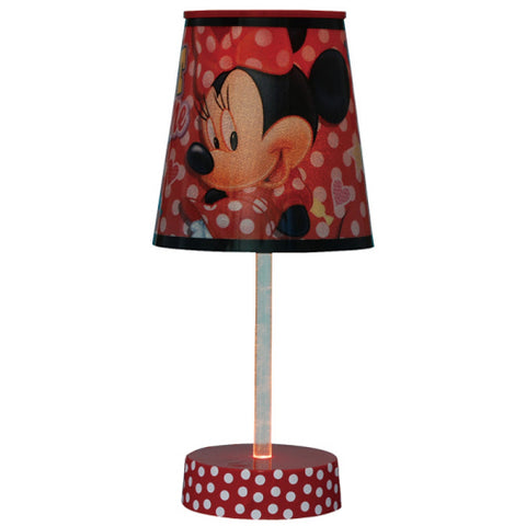 Minnie Mouse Tube Lamp
