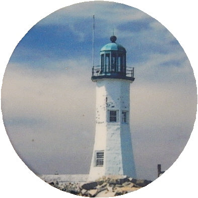 Scituate Lighthouse Photo Magnet