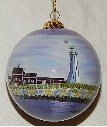 Scituate, MA Lighthouse Ornament by Marsha York