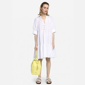 Ottodame Poplin Mini Dress white