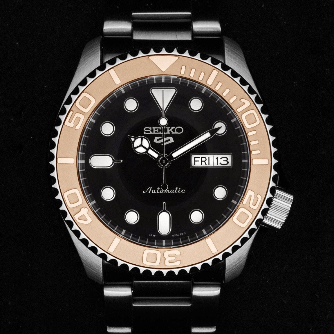 Ceramic Insert - 007 Yacht Master Rose Gold