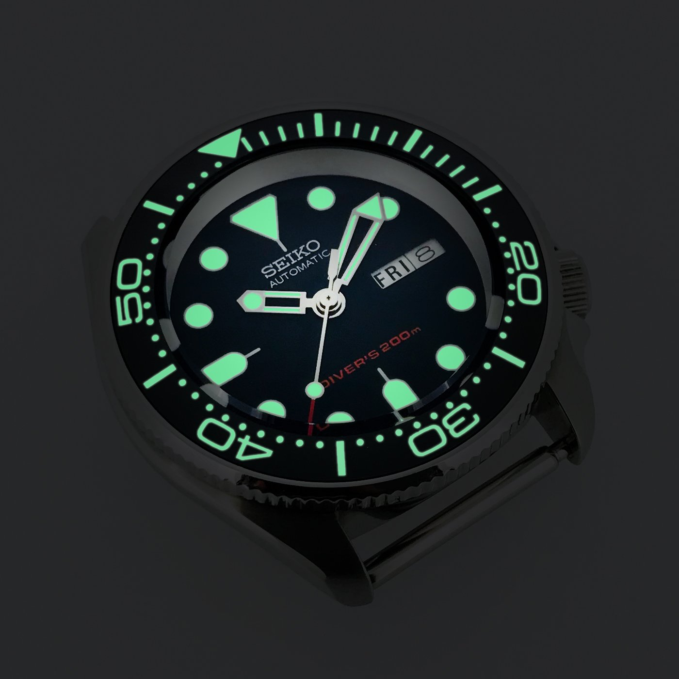Ceramic Insert - 007 SMP - Luminous Green