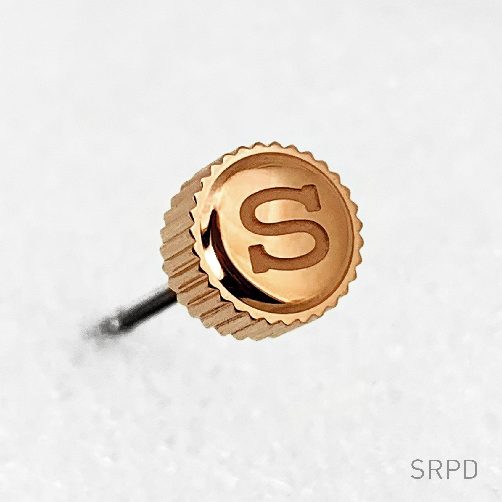"Crown - SRPD - Polished PVD Rose Gold - ""S"""