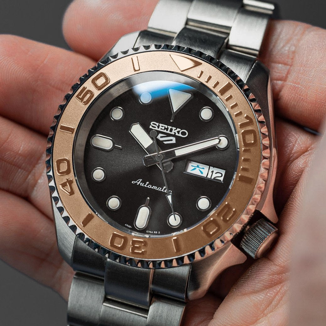 Steel Insert - 007 Yacht Master Rose Gold
