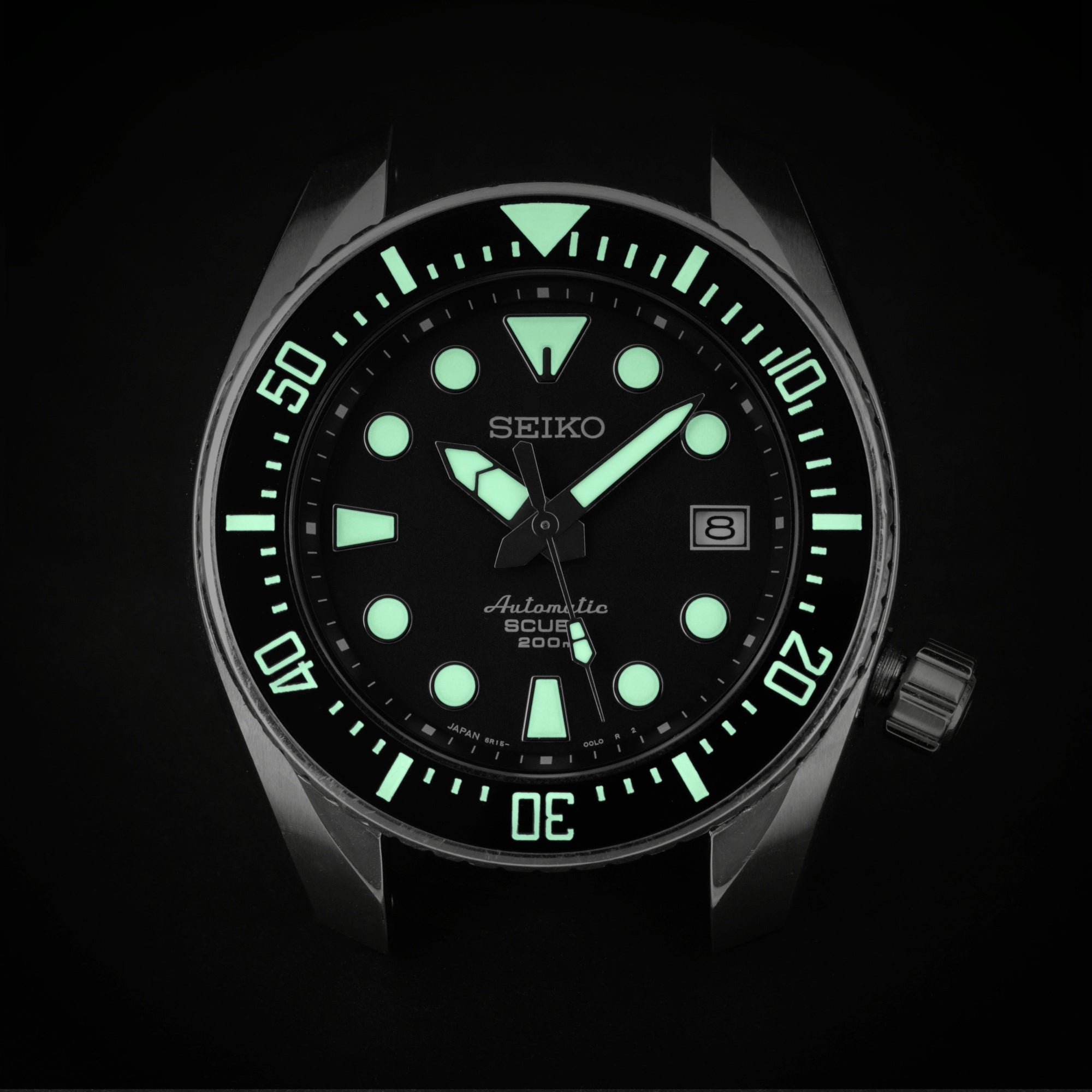 Ceramic Insert - Sumo DS Black - Luminous Green