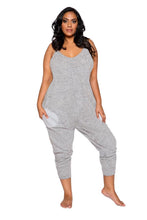 将图片加载到图库查看器,LI294 - Cozy & Comfy Pajama Jumpsuit with Pocket Details
