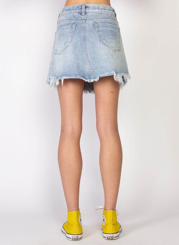 Welcome Skirt - Distressed